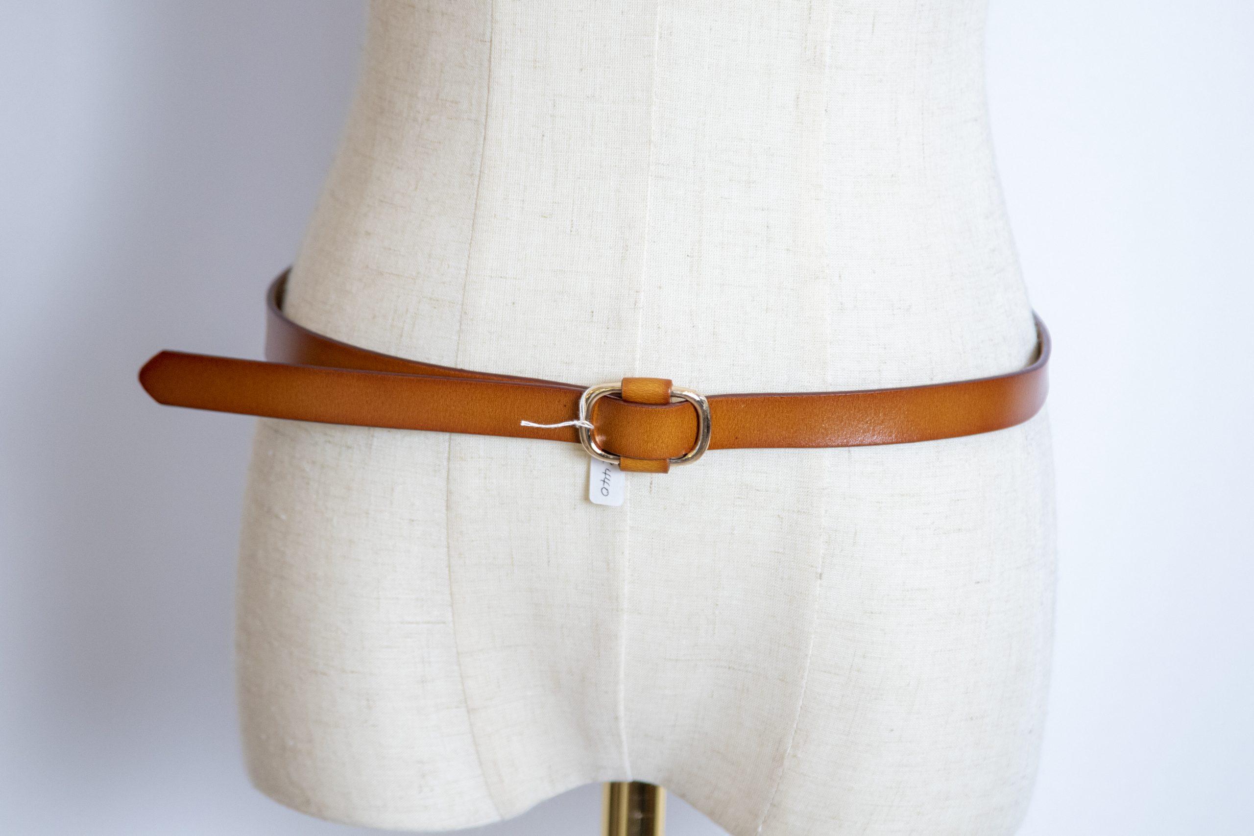 Leather Slide Belts